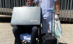 Raus aus dem Krankenhaus 2020 und mit dem BEMER Human Set ausgestattet - Dressurreiter Juan Matute Guimon. (Foto: Juan Matute Azpitarte)