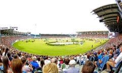 Im CHIO Aachen-Hauptstadion werden die FEI Youth Championships ausgerichtet werden. Foto: Michael Strauch