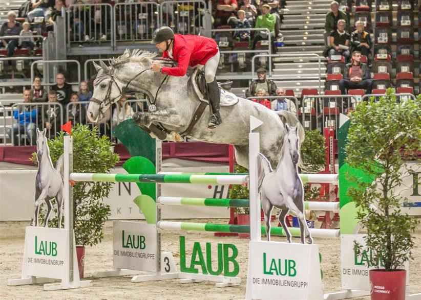 Malte Laub- Amateur-Springreiter und Titelsponsor Foto- privat