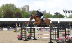 William  Funnell  riding Billy Kat in the Martin Collins Enterprises Senior 1.45m Grand Prix Jumping Competition during the Royal Windsor Horse Show held in the private grounds of Windsor Castle in Berkshire in the UK between on 8th-12th May 2019Jai  Snelling