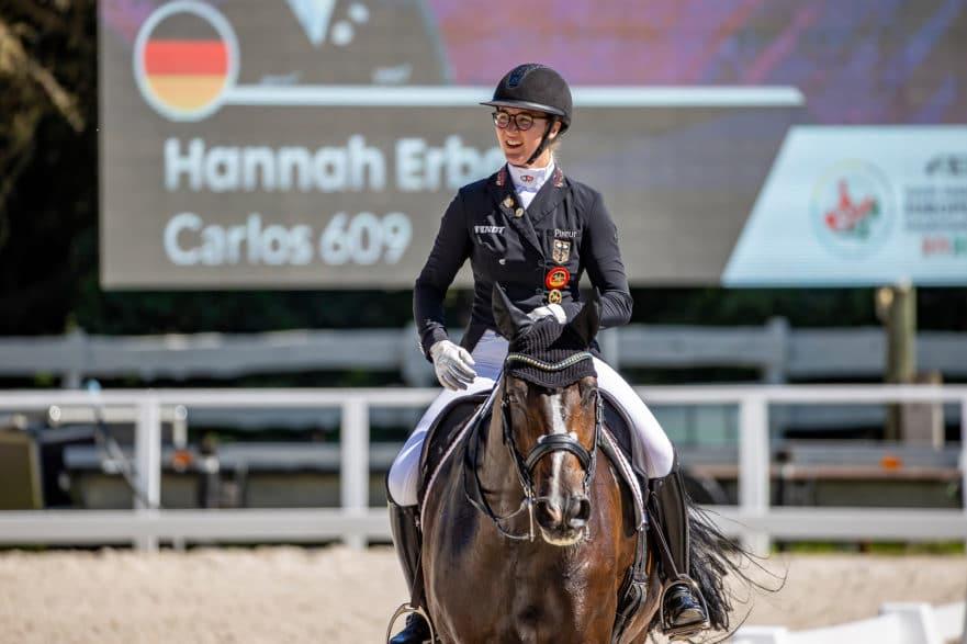 Carlos FRH und Hannah Erbe bei den U25-Europameisterschaften in Pilisjászfalu/HUN.  Foto: Stefan Lafrentz
