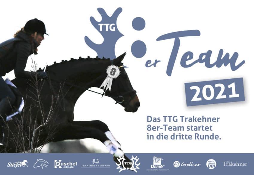 Trakehner reiten und dabei sein - im TTG Trakehner 8er-Team 2021!