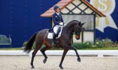 Helen Langehanenberg (GER) Straight Horse Ascenzione