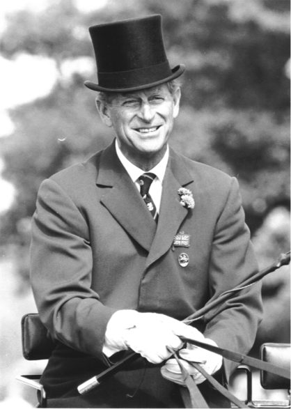 Prince Philip, the Duke of Edinburgh, the longest serving FEI President (1964 – 1986) has passed away peacefully this morning at Windsor Castle in England. He was 99. Rechte: FEI
