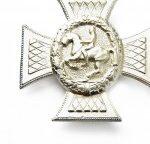 Reiterkreuz in Silber