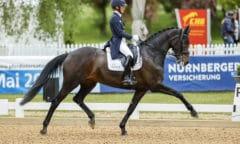 Helen Langehanenberg und Straight Horse Ascenzione Foto: Stefan Lafrentz