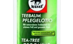 Teebaum-Pflegelotion von leovet – Jetzt in neuer recycelter Verpackung  – Mit naturreinem Teebaumöl für schönes Fell und gesunde Haut ohne Juckreiz. Mineralölfrei, mikroplastikfrei, silikonfrei und vegan!