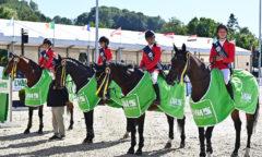 Sieger des CSIO Ch, Team Belgien, (c) Foto Rüchel