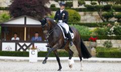 Mit DSP Quantaz im ersten Grand Prix bereits siegreich, dann mit Bella Rose auf im zweiten Grand Prix - Isabell Werth aus Rheinberg. (Foto: Stefan Lafrentz)