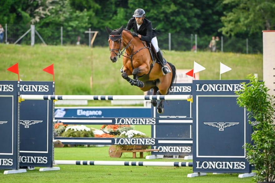 Nayel Nassar Sieger im Longines Grand Prix der Schweiz Fotocredit: csio.ch/Katja Stuppia