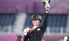 Jessica von Bredow-Werndl gewinnt Einzel-Gold (Foto: FEI)