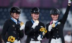Das deutsche Gold-Team (Foto: FEI)