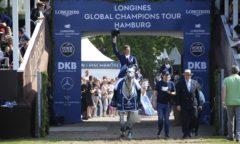 Daniel Deußer gewann den Longines Champions Tour Grand Prix of Hamburg 2019 Foto: © Stefano Grasso LGCT