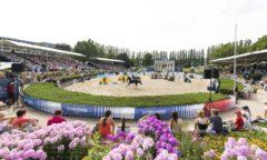 Die Longines Global Champions Tour macht vom 22.-25. Juli 2021 im Berliner Sommergarten Station. Foto: Thomas Hellmann