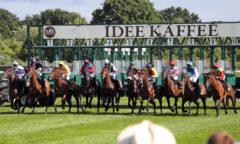 Das IDEE 152. Deutsche Derby wird mit 20 Pferden am Sonntag in Hamburg-Horn gestartet und ist mit 650.000 Euro das höchstdotierte Rennen. (Foto:galoppfoto.de/Sorge)