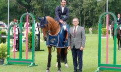 Zanotelli and new ride Ubran de Rohan