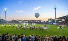 So war's bei der letzten CHIO Aachen-Eröffnungsfeier (Foto- CHIO Aachen: Arnd Bronkhorst)