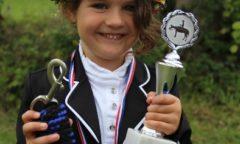Allaround Champion in der Führzügelklasse wurde die vierjährige Melia Komorowski aus Wittenberger Passau