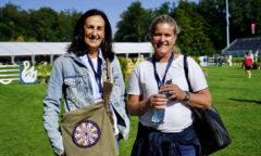 Veronique Phillipaerts und Elisabeth Gulliksen freuen sich über den Erfolg ihrer Kinder Foto- RI