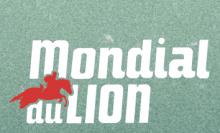 Logo Mondial du Lion