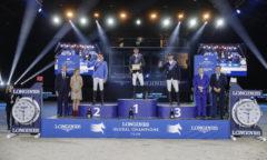 Christian Ahlmann auf Platz 2 Photo- Longines Global Champions Tour